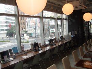 五反田 カフェ 充電 電源 山手線