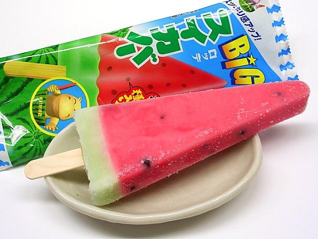 アイス スイカバー メロンバー 夏 おいしい 人気