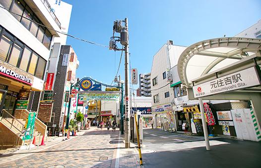 元住吉 電源 充電 カフェ 東横線