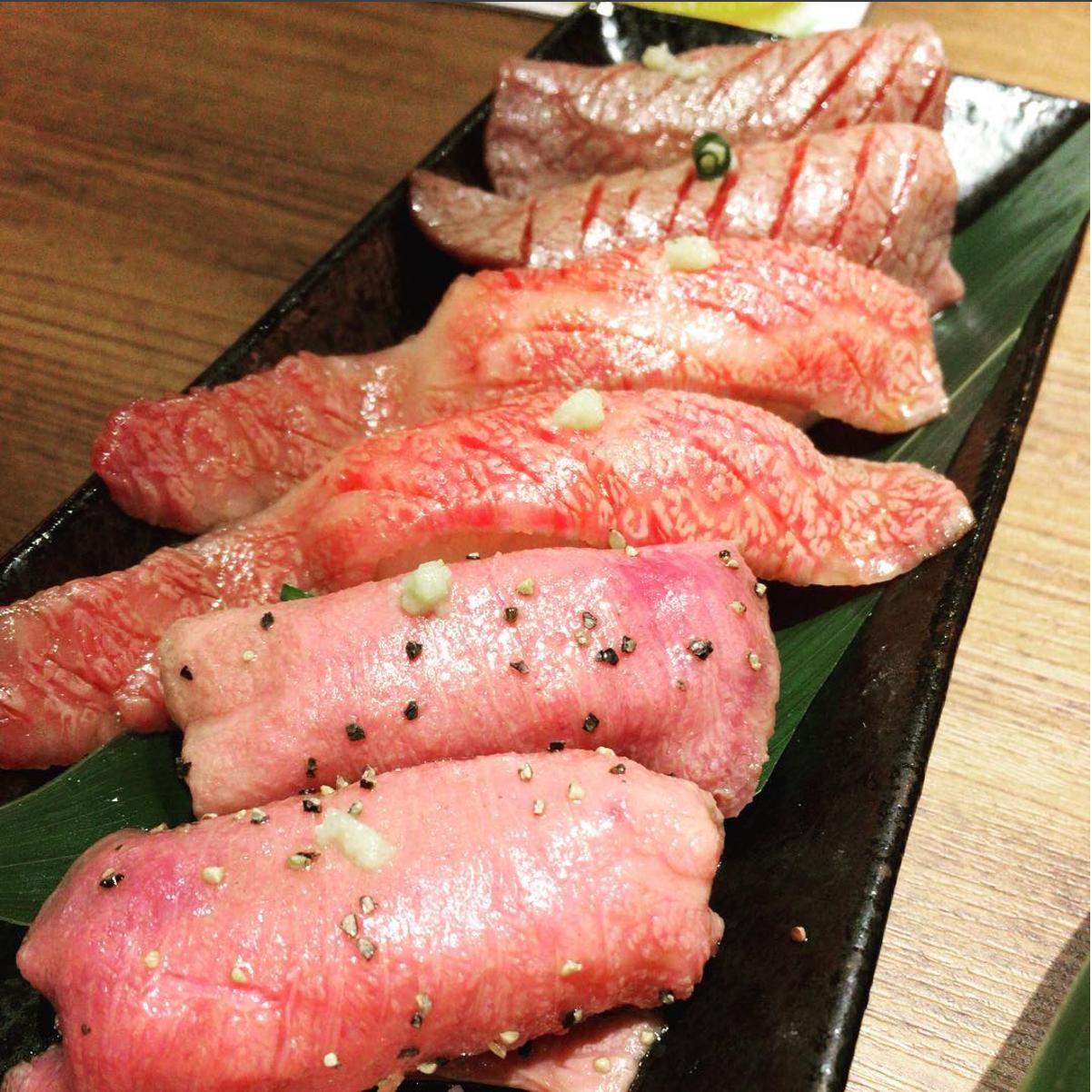 date niku sushi osusume oisii tokyo    osaka